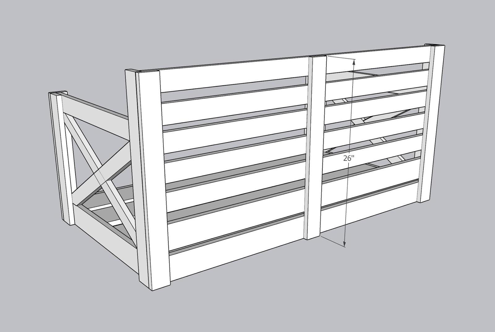 Build Your Own Crib Mattress Porch Swing
