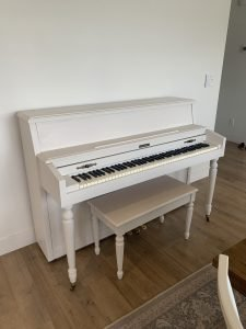 Chalk Paint Piano